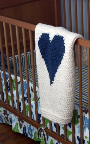Free #knitting pattern \\ #heart blanket \\ http://ow.ly/Y0kMa #valentinesday