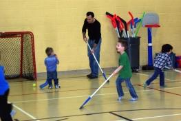Little game of hockey