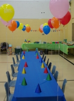 Before the kiddies arrived
