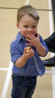 Logan eating AGAIN