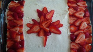 canada day cake