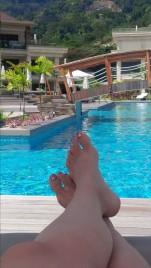 Pool at the Savoy