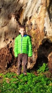 sasha in the park