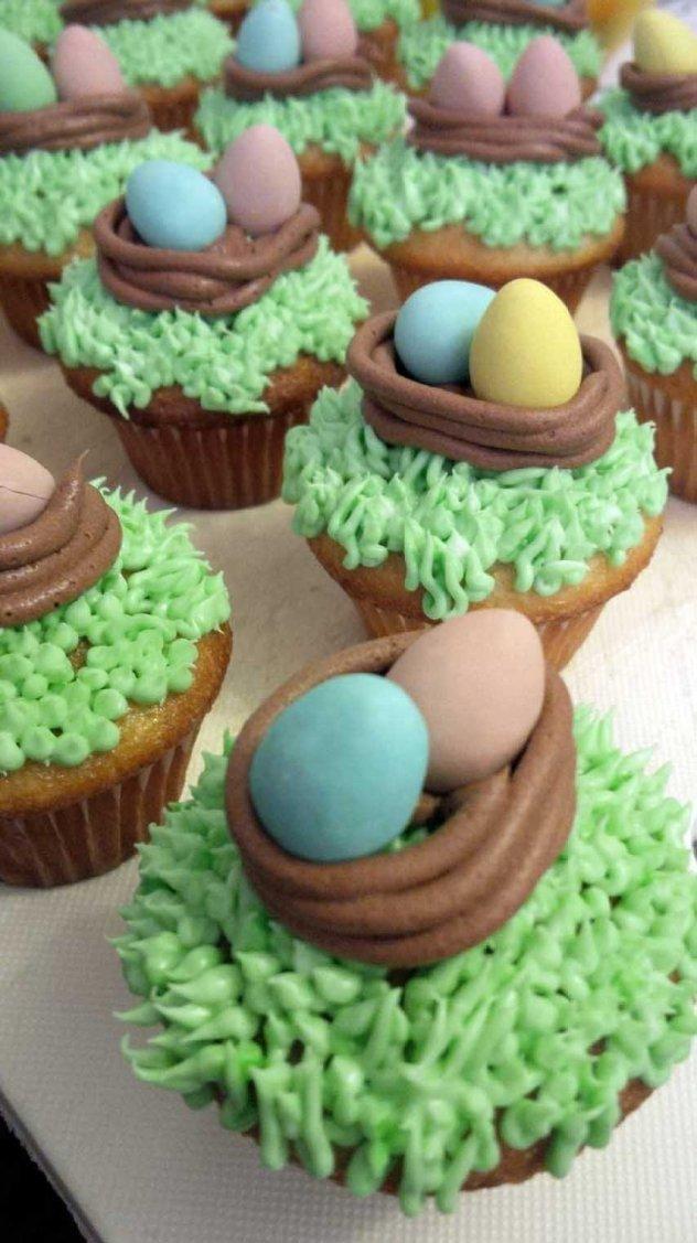 nest cupcakes 1