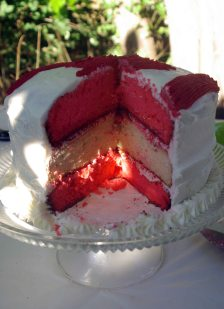 canada cake inside