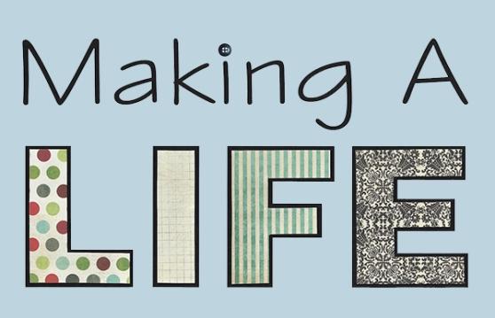 making a life logo aqua
