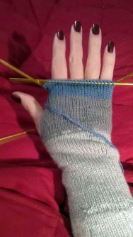 gloves in process 2