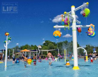 Splash pad Safari Niagara