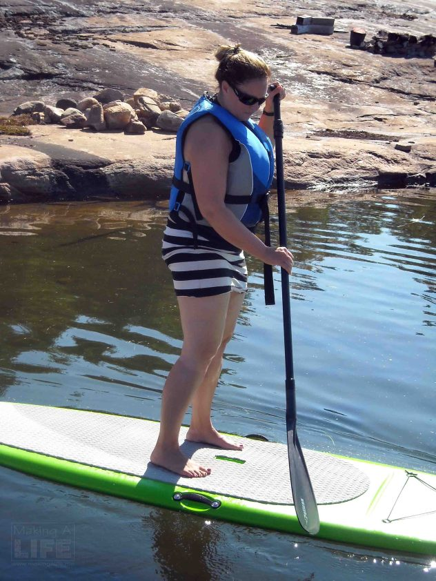 Making A Life - Paddleboarding